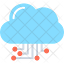 Cloud Computing Cloud Hosting Cloud Network Icon
