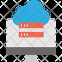 Data Transverv Cloud Computing Cloud Server Icon