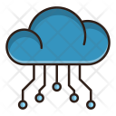 Cloud Computing Seo Icon
