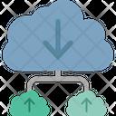 Cloud Computing Cloud Data Cloud Hosting Icon