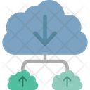 Cloud Computing Cloud Data Cloud Hosting Icon