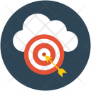 Cloud Optimization Aim Icon