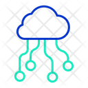 Icloud Server Cloud Computing Cloud Hosting Icon