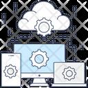 Cloud Services Cloud Technology Cloud Computing Icon