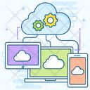 Cloud Computing Cloud Technology Cloud Service Icon