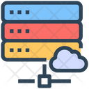 Seo Web Cloud Icon