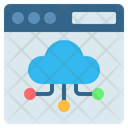 Cloud Computing Web Icon