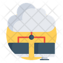 Cloud Computing Cloud Storage Cloud Technology Icon