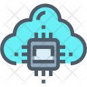 Artificial Intelligence Cloud Icon