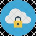 Cloud Computing Safe Icon
