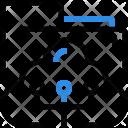 Network Cloud Computing Icon