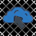 Cursor Cloud Database Icon