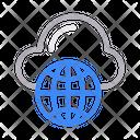 Browser Web Global Icon