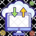 Cloud Computing Cloud Upload Cloud Download Icon