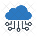 Cloud Computing Setting Icon