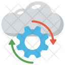 Cloud Computing Operations Icon