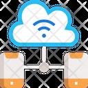 M Cloud Computing Icon
