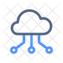 Share Cloud Data Icon