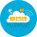 Cloud Computer Server Icon