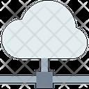 M Cloud Computing Cloud Computing Cloud Database Icon