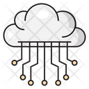 Cloud Computing Database Icon