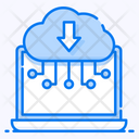 Cloud Computing Cloud Downloading Cloud Storage Icon