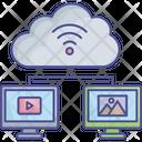 Cloud Computing Cloud Information Cloud Storage Icon