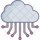 Cloud Hosting Cloud Network Hosting Network Icon