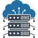 Cloud Computing Cloud Database Cloud Syncing Icon