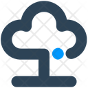 Electronics Cloud Computing Icon