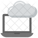 Cloud Laptop Computing Icon