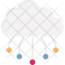 Cloud Computing Cloud Database Cloud Infrastructure Icon