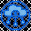 Cloud Money Coin Icon
