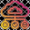 Brain Idea Clond Icon