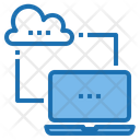 Cloud System Artificial Intelligence Icon