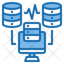 Server Cloud System Online Icon