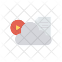 Cloud Server Computing Icon