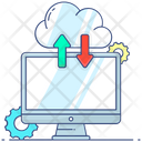 Cloud Computing Cloud Network Cloud Hosting Icon