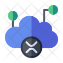 Cloud Computing Cloud Database Icon