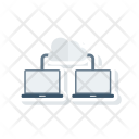 Cloud Connect Network Icon