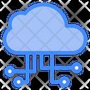 Cloud Computing Servers Cloud Icon