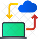 Cloud Computing Cloud Network Cloud Data Icon