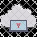 Wifi Laptop Computer Icon
