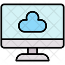 Cloud Computing Cloud System Icon