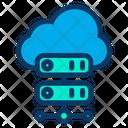 Cloud Online Storage Data Storage Icon