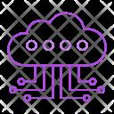 Server Cloud Computing Icon