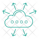 Cloud Computing Server Icon