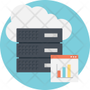 Cloud Computing Cost Icon