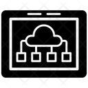 Cloud Computing Diagram Icon