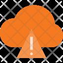 Cloud computing error Icon